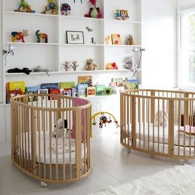 Интерьер детской для близнецов