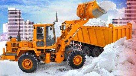 Как проводится вывоз снега