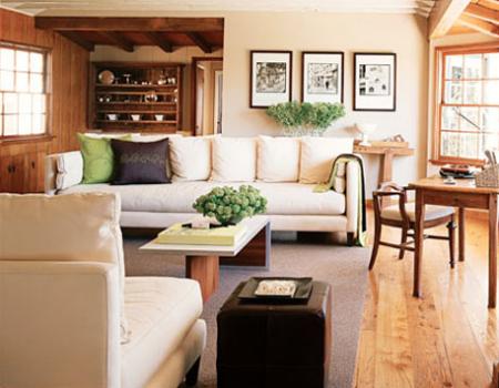 Как сделать гостиную наиболее привлекательной для глаз?