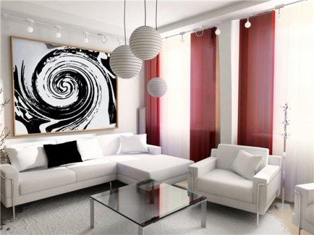 Какие элементы включает интерьер современной гостиной