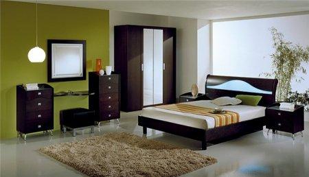 Мебель для спальни в стиле минимализма