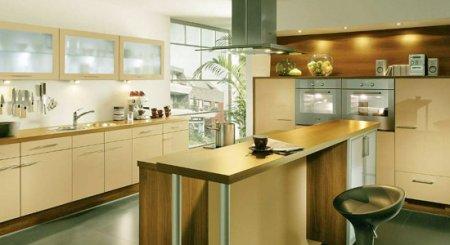 Металл в оформлении и декорировании кухни