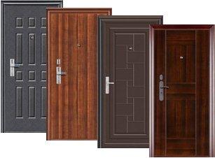 Металлические двери для улицы и квартиры