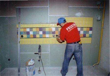 Облицовка стен керамической плиткой - полезно знать всем