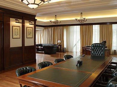 Офис в английском стиле