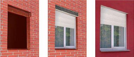 Окна первых этажей и применение рольставней