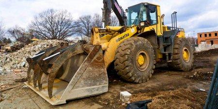 Подготовка территории к строительству фундамента