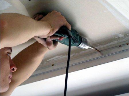 Порядок монтажа подвесного потолка