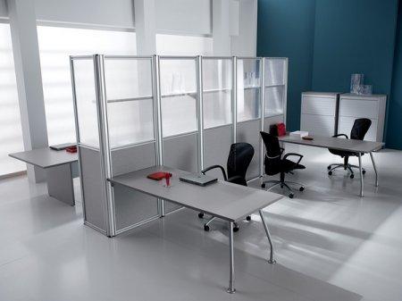 Выбираем офисные перегородки из алюминиевого профиля