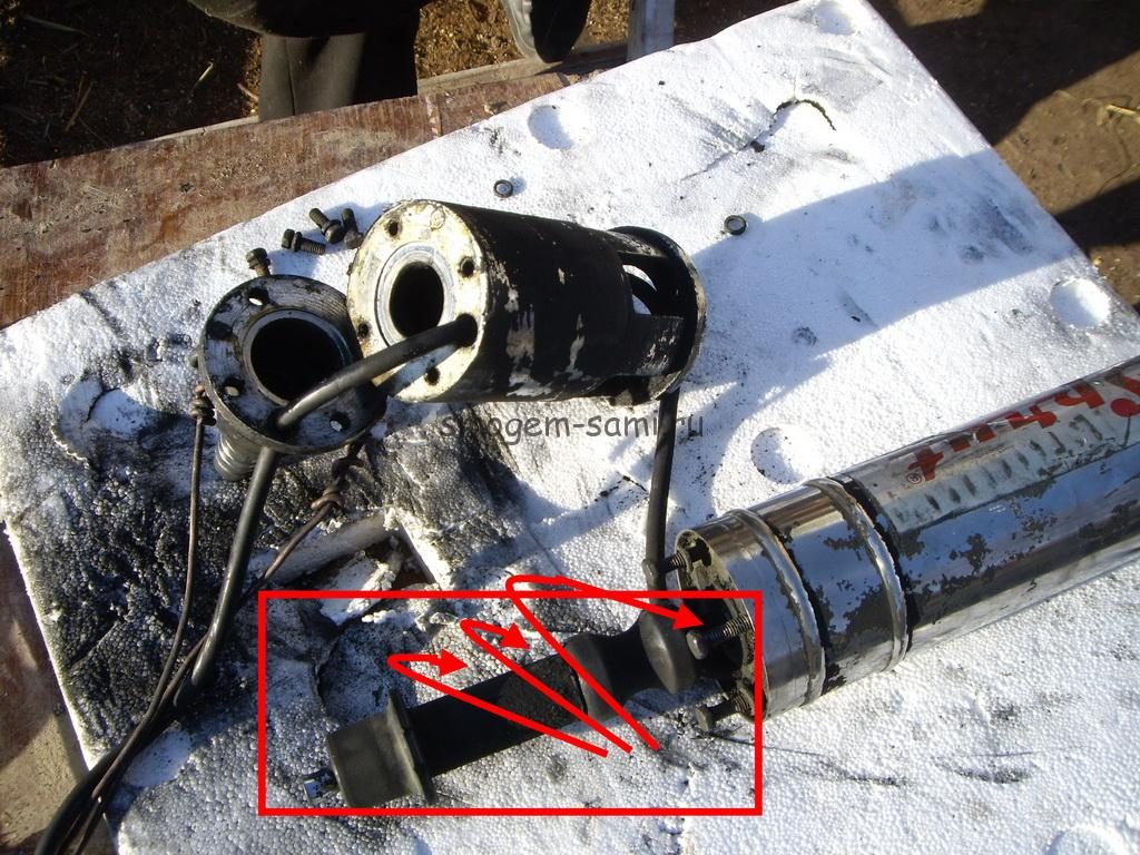 ремонт насосов погружных