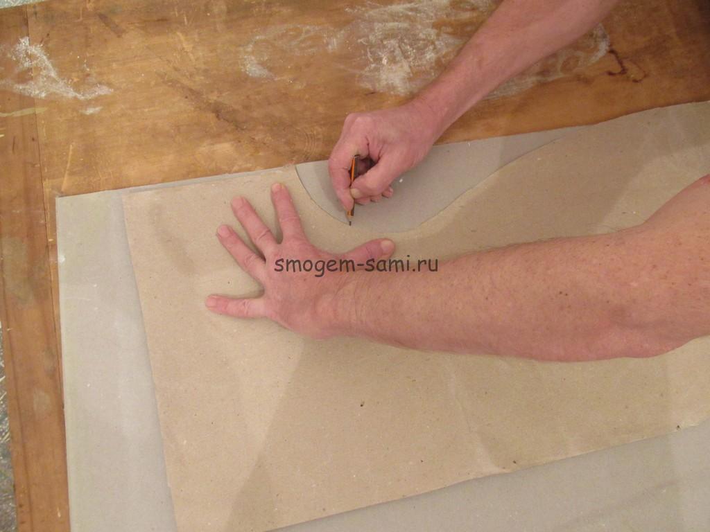 Как сделать форму из гипсокартона 490