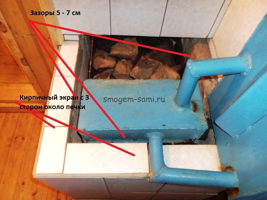 Как сделать электрические теплые полы в бани 633