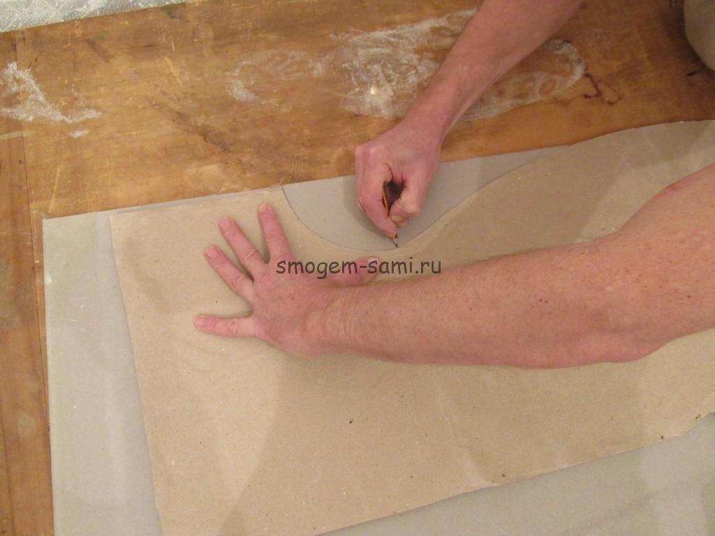 сложные формы своими руками