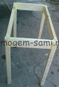 как сделать простой стол