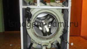 устранить запах из стиральной машины