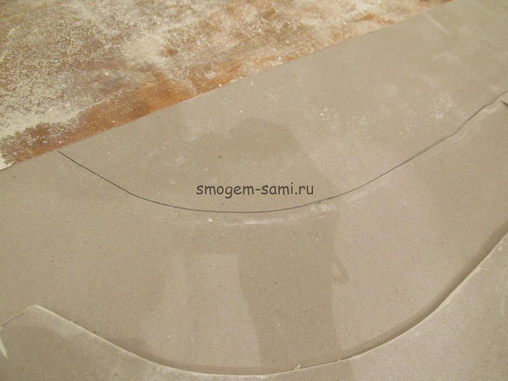 фигурный потолок из гипсокартона
