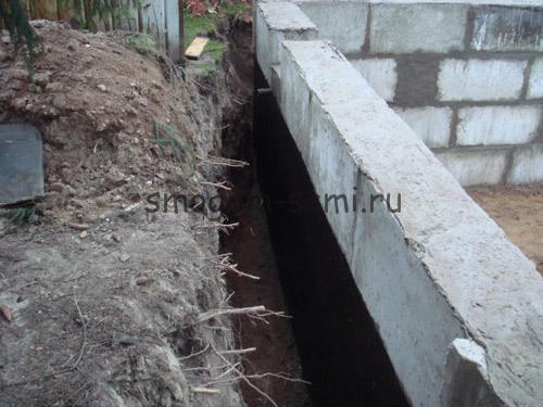 фундамент для дома с подвалом