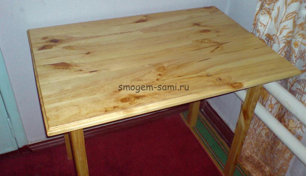 Обеденный стол из своими руками 899