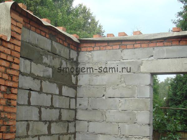 построить дом из пеноблоков фото