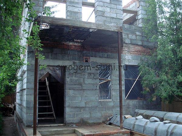 дом построить из пеноблоков