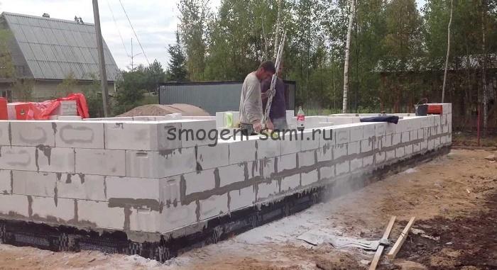 Как я строил дом из газобетона