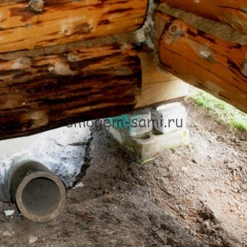 Фундамент для бани 3на5