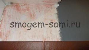 укладка декоративной плитки на стену