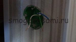 установка розетки с заземлением скрытой проводки