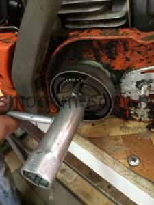 Husqvarna 137 ремонт сцепления