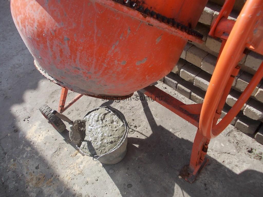 бетономешалка земешивание раствора бетонного своими руками