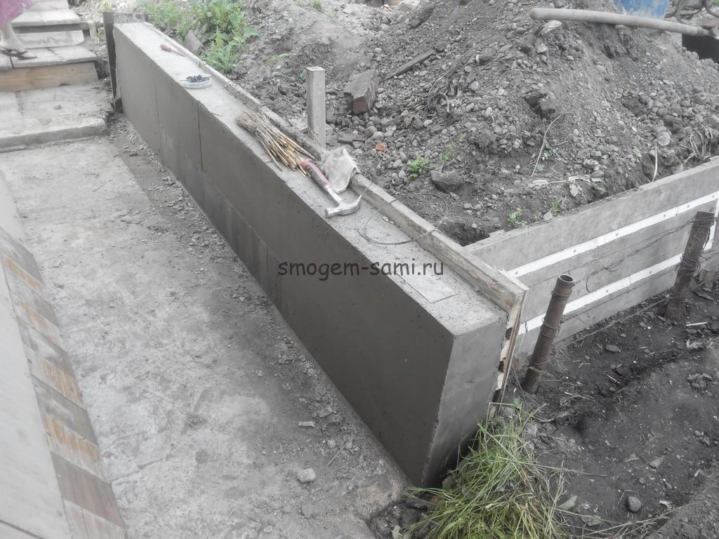 время затвердевания бетона
