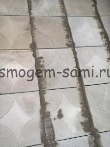 тротуарная плитка затирка швов