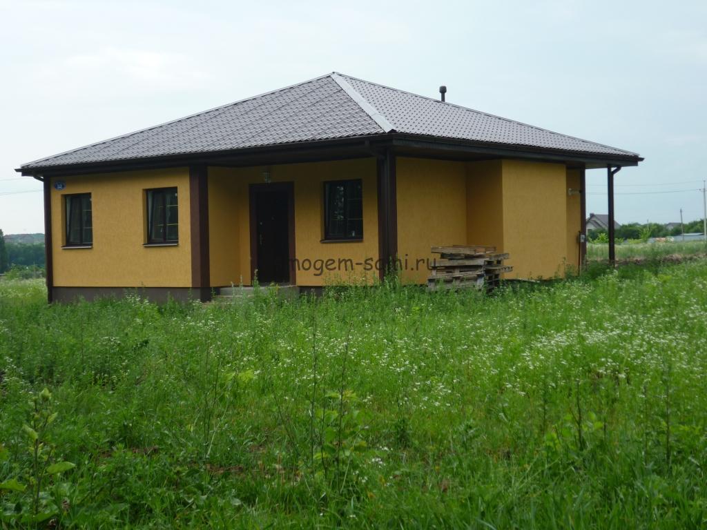 фото основные этапы строительства дома своими руками