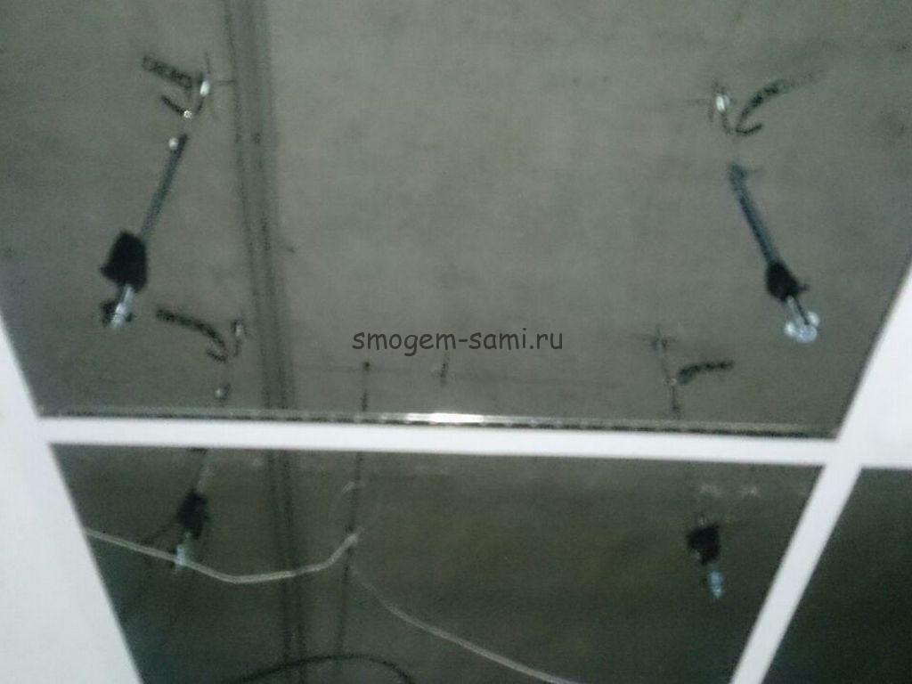 монтаж сплит-системы потолок АРМСТРОНГ