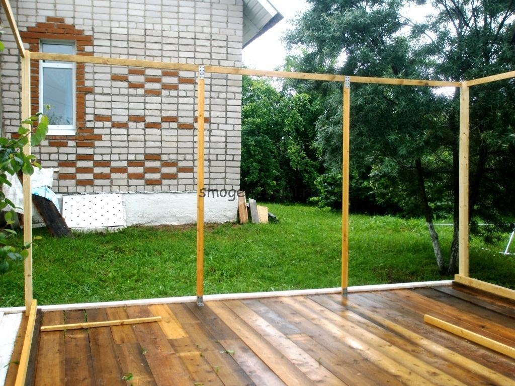каркас шатра деревянный беседка