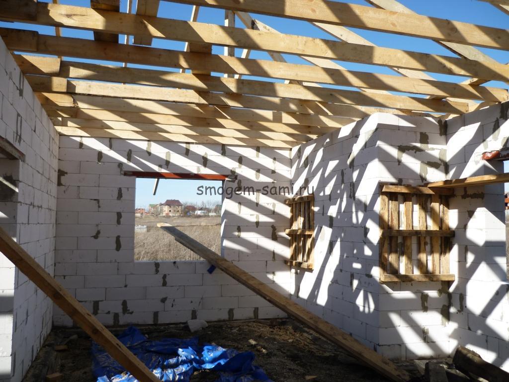 строительство дома этапы фото
