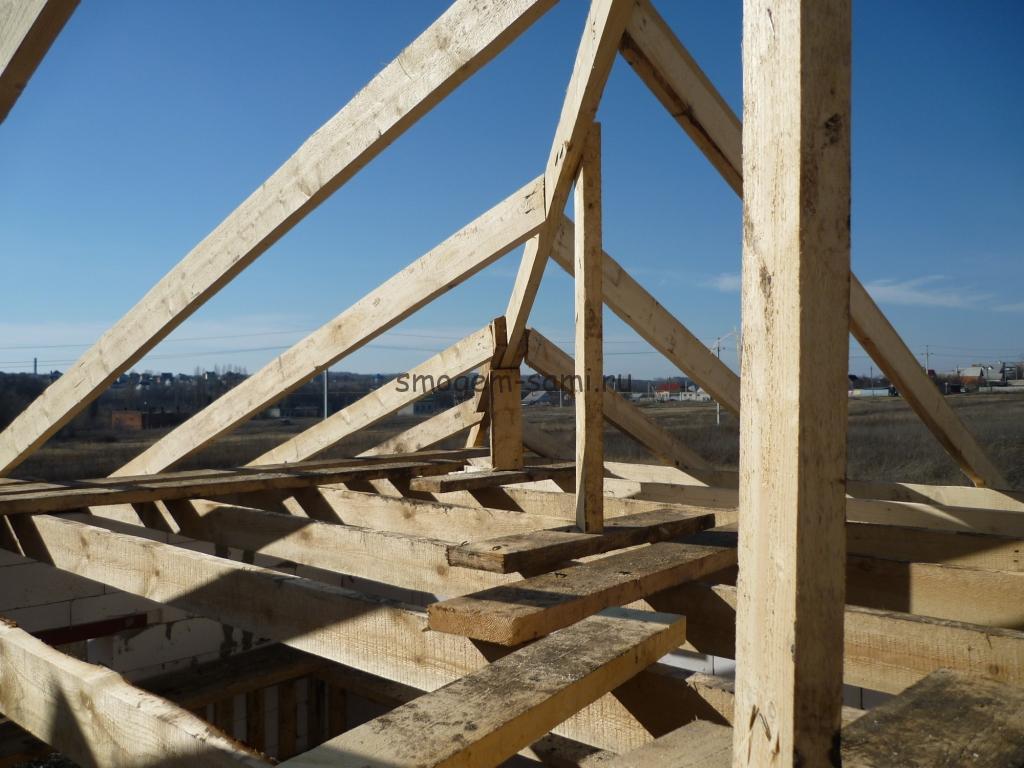 строим дом фото этапов