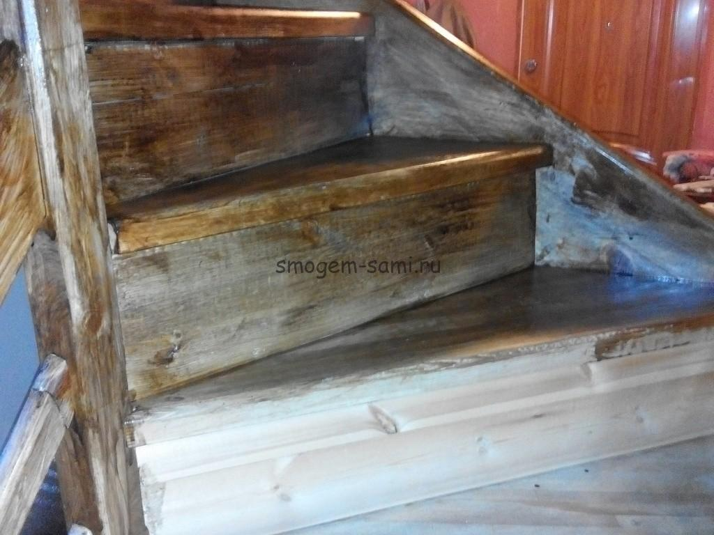лакировка лестницы в доме своими руками