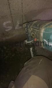укладка труб канализации