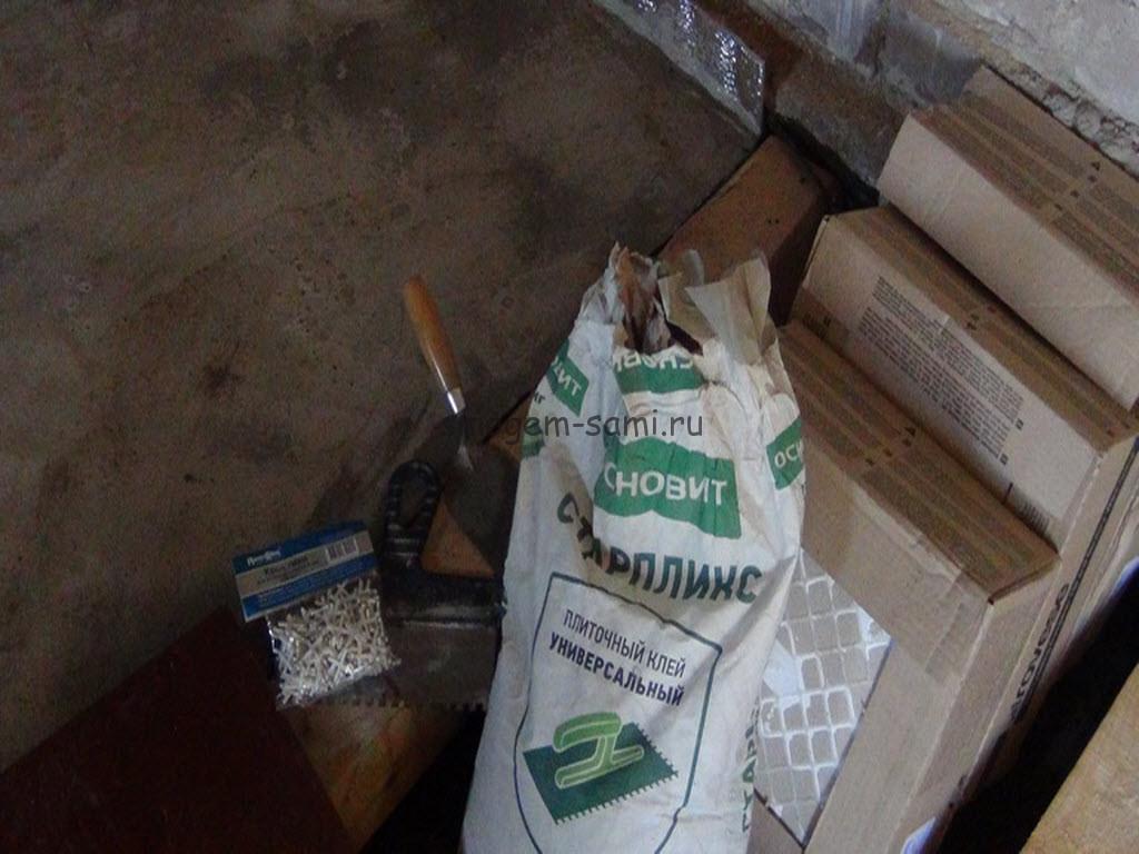 необходимые инструменты для укладки напольной плитки