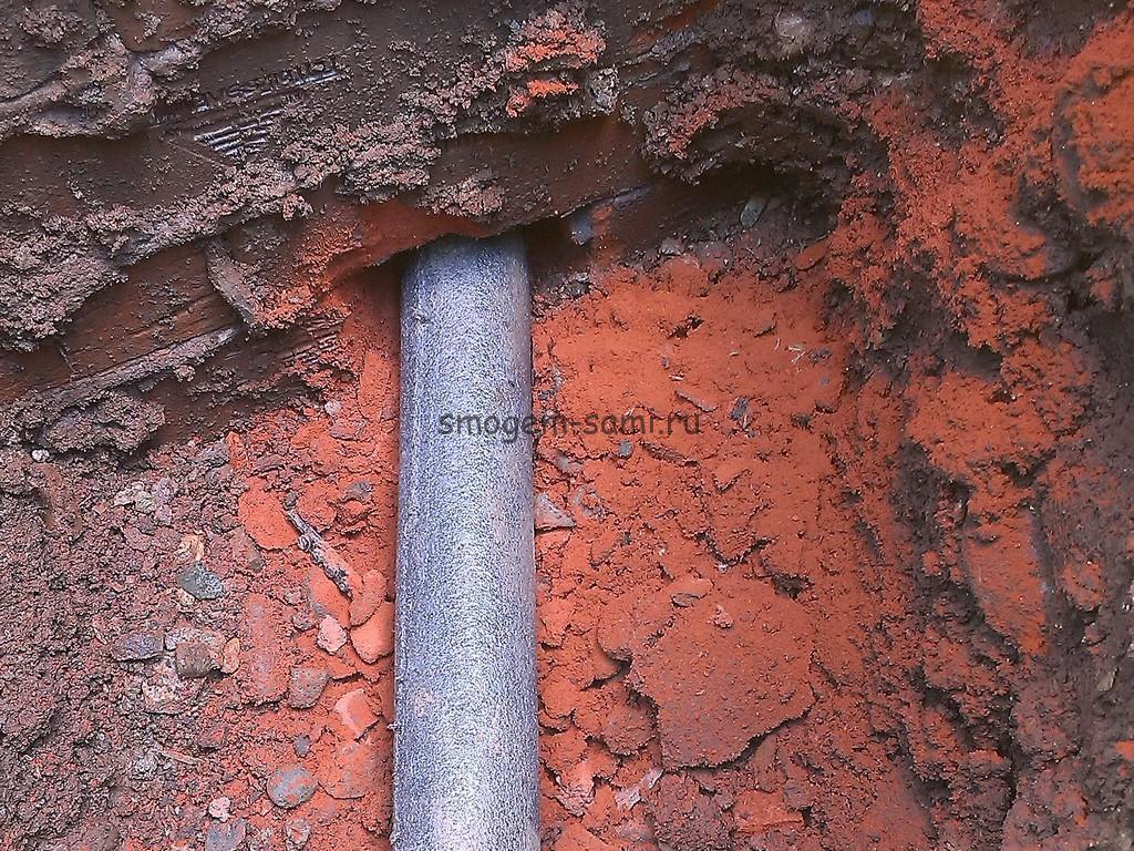 утепление трубы водопровода