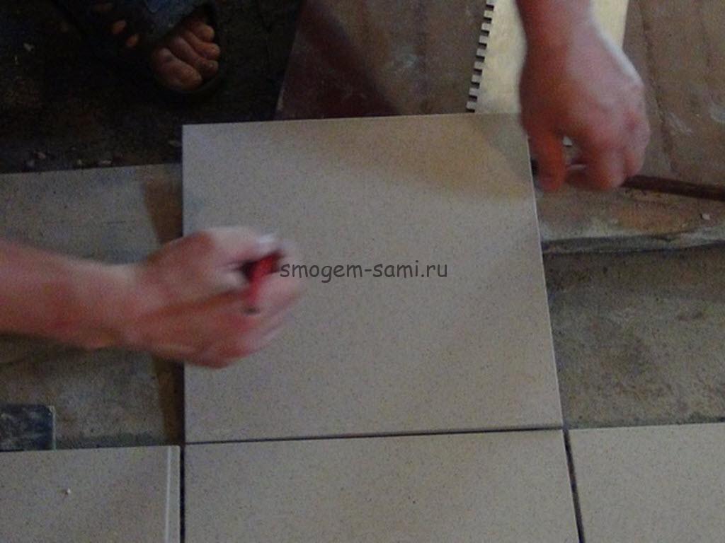 укладка на бетон керамической плитки