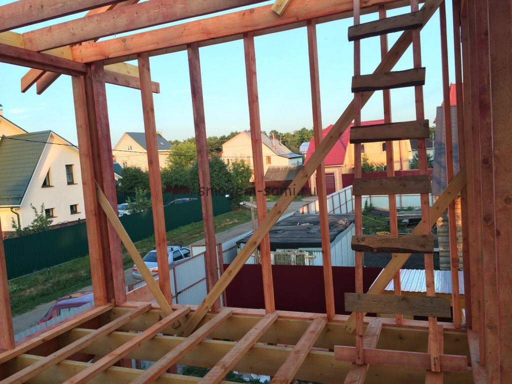 фото инструменты и материалы для строительства деревянного каркаса дома своими руками