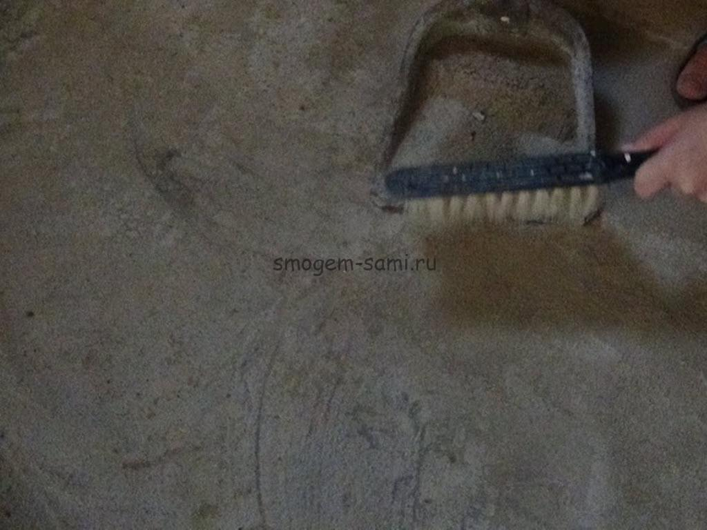 керамическую плитку на бетон