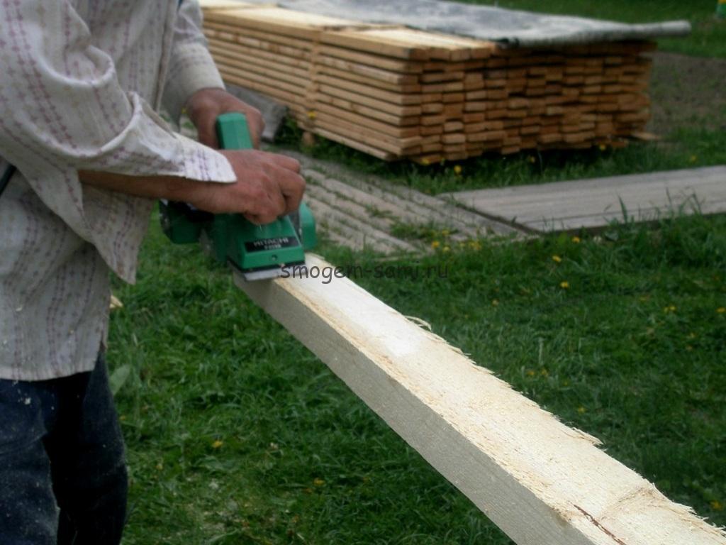 фото изготовление штакетника из дерева своими руками