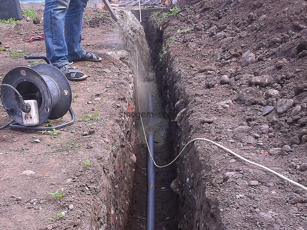 фото утепление трубы водопровода