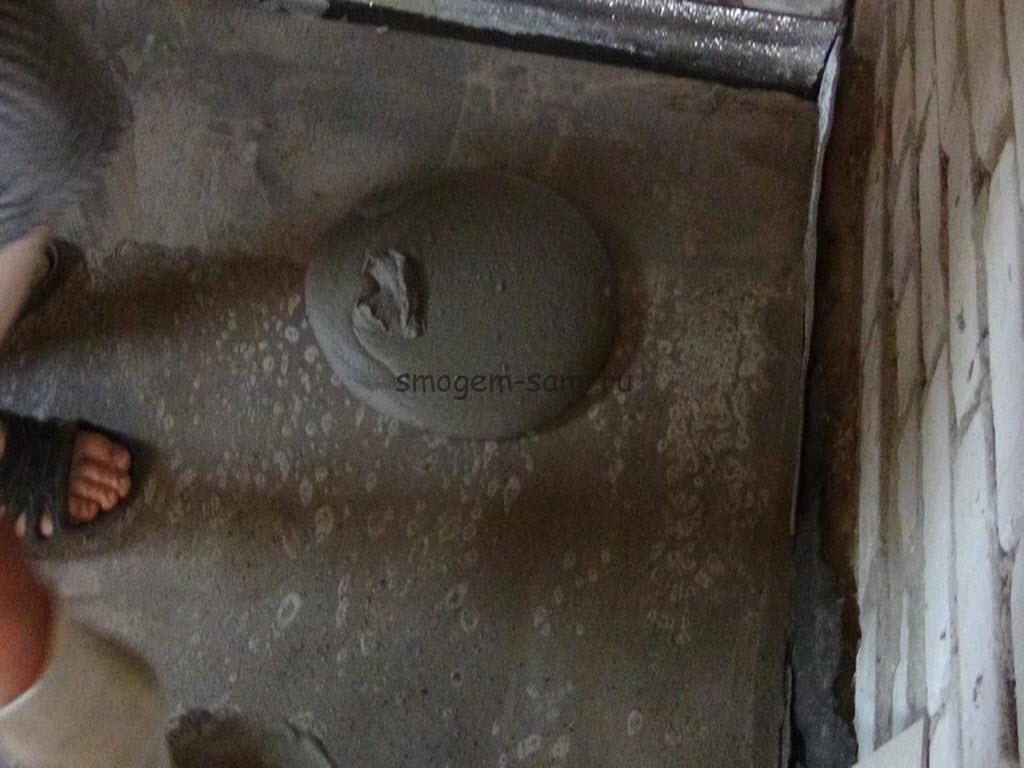 уложить керамическую плитку на бетон