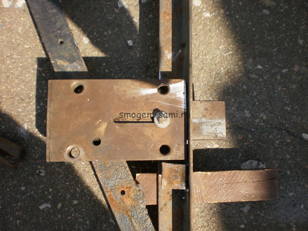 фото изготовления металлической двери своими руками