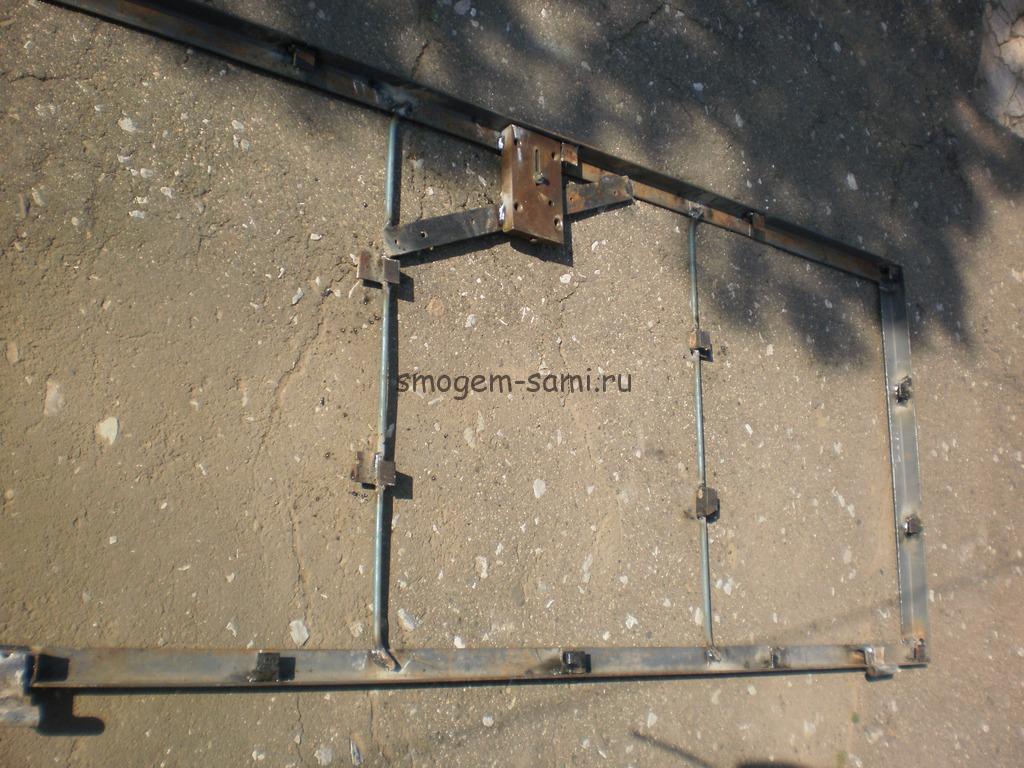 металлическая дверь своими руками фото