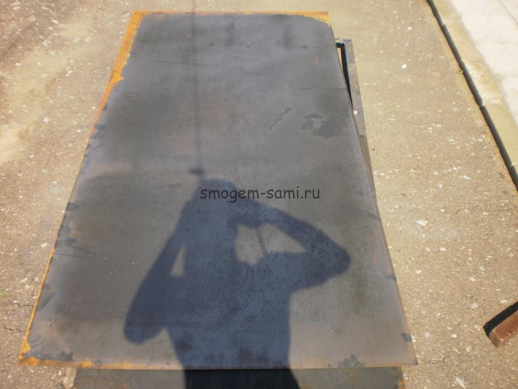 металлическая дверь из уголка фото изготовления своими руками